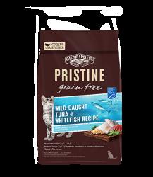 PRISTINE 無穀物全貓糧 – 野生捕撈吞拿魚白魚配方 3lb