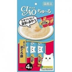 Ciao SC-141 吞拿魚+吞拿魚乾醬 14g (內含4小包) x2包優惠