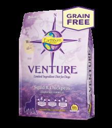 Earthborn Venture 魷魚+鷹嘴豆 單一蛋白配方 全犬 4磅
