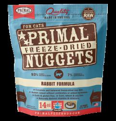 Primal (原始) 貓用脫水糧- 兔肉配方 14oz x2包優惠
