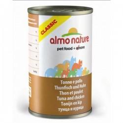 Almo Nature 吞拿魚+雞肉 濃湯配方 貓罐頭 140g