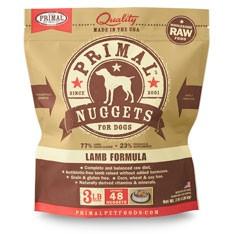 Primal 急凍羊肉狗糧 3lb x4包優惠