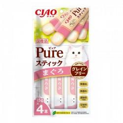 CIAO SC-331 <Pure 果凍片> 吞拿魚 15g (內含4小包) x2包優惠