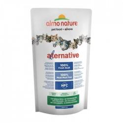 Almo Nature Alternative 新鮮鵪鶉肉成貓乾糧 (750g)