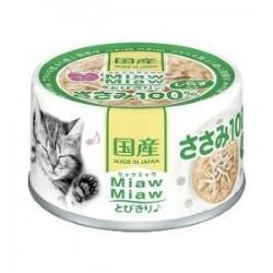 Aixia Miaw Miaw 雞肉加白飯魚缶頭 (MT-6) 60g