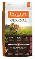 Nature's Variety Instinct 本能無穀物 鴨肉+火雞肉 貓糧Kibble Feline  4.5磅
