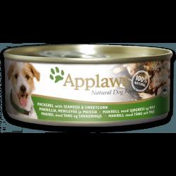 Applaws 天然狗罐頭 鯖魚, 紫菜 & 甜玉米 156g