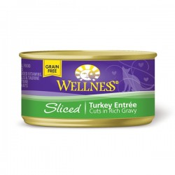 Wellness火雞肉條罐頭 3oz (85g) Sliced Trukey Entree