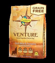 Earthborn Venture 鴨肉+南瓜 單一蛋白配方 全犬 4磅