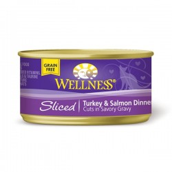 Wellness火雞三文魚肉條罐頭 3oz (85g) Sliced Turkey & Salmon Dinner