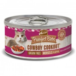 Merrick 無穀物 牛肉+牛肝 貓罐頭 (cowboy cookout) 5.5oz