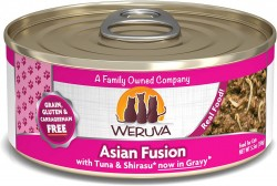 Weruva Asian Fusion 紅肉吞拿魚+幼鯷魚 貓罐頭 5.5oz