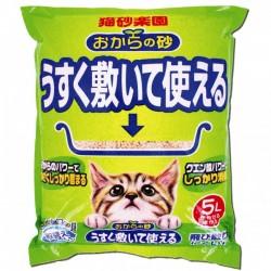 日本大塚貓砂樂園豆腐貓砂 5L
