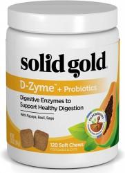 Solid Gold D-Zyme 消化靈 120粒