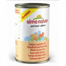 Almo Nature 吞拿魚+蝦 貓罐頭 140g