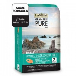 Canidae PURE Sea for Cats 無穀物三文魚海洋配方5磅