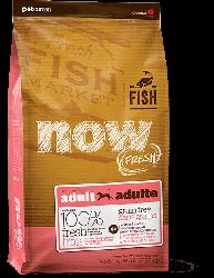 NOW FRESH!™ 全犬種 無穀物成年魚肉狗糧配方 (鱒魚+三文魚+希靈魚) 25磅
