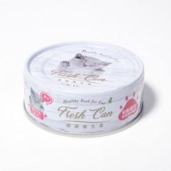 Fresh Can 成長發育機能 慕斯狀 幼貓-雞肉 80g (粉紅) x24罐優惠