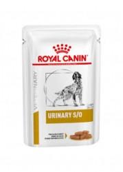 [凡購買處方用品, 訂單滿$500或以上可享免費送貨]  Royal Canin - Urinary S/O (LP18) 泌尿道處方 狗濕糧 100g x12包原箱