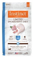Nature's Variety Instinct 本能無穀物 單一蛋白火雞配方 5磅