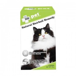 Dr.Pet Natural Hairball Remedy 護心去毛球 50g