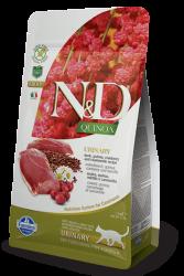 Natural & Delicious 藜麥功能天然貓糧 – 鴨肉 泌尿護理 1.5kg