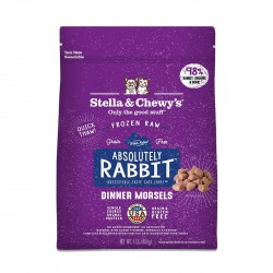 Stella & Chewy's FROZEN DINNER 冷凍生肉貓糧 - 極度兔惑 (兔肉配方) 1lb
