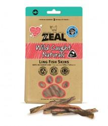 Zeal  熱愛天然紐西蘭鱈魚皮 Ling Fish Skins 125g