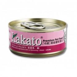 卡格 吞拿魚 蝦 Kakato Tuna & Prawn 70g