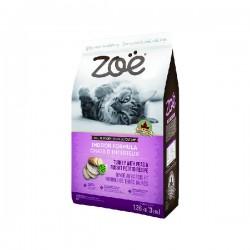 Zoe 天然貓糧 - 火雞配豌豆及焗薯配方 (室內貓尿道配方) 1.36kg