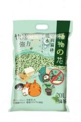 Natural Core 植物之芯豆腐貓砂 (綠茶味) 20L x4包優惠