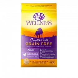 Wellness Complete Health 成犬無穀物雞肉配方 狗乾糧 4磅