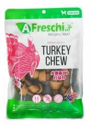 A Freschi srl 天然火雞筋3吋打結骨 (130g)
