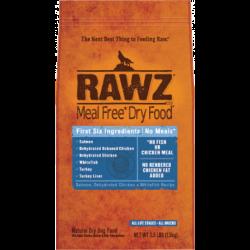 RAWZ 無穀物低溫烘焙三文魚, 脫水雞肉及白魚肉狗糧 3.5lb 到期日:10/01/2021