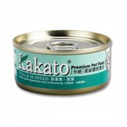卡格 吞拿魚 + 祡菜 Kakato Tuna & Seaweed 170g