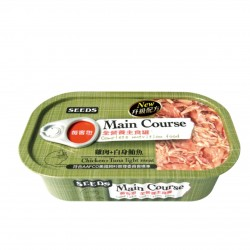 Main Course全營養主食罐-雞肉+白身鮪魚 x12罐優惠