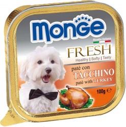 Monge 低脂火雞肉鮮肉罐頭 100g