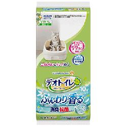 日本 Unicharm 1 週間 消臭抗菌 尿墊 10片 (花香味)
