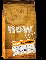 NOW FRESH!™ 全犬種 無穀物成年狗糧配方 (火雞+三文魚+鴨肉) 25磅