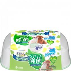 Unicharm 不含酒精除菌濕紙巾(貓狗共用) 60片