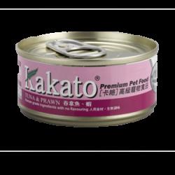 Kakato 吞拿魚 蝦  170g