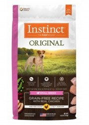 Nature's Variety Instinct 本能無穀物 雞肉 小型犬用糧 4lb