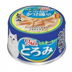 Ciao 金槍魚+雞肉 (日本牛奶使用) (綠茶消臭配方) 80g (A-113)