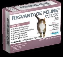 RESVANTAGE 維蘆醇 – 白藜蘆醇 (貓) 30粒