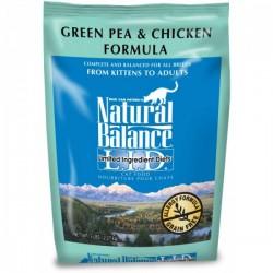 NaturalBalance抗敏雞肉豌豆貓糧 L.I.D. Green Pea & Chicken Formula Cat Food10磅