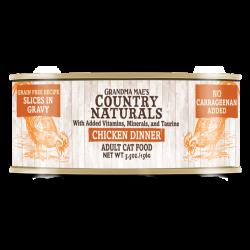 Country Naturals  無穀物天然汁煮香濃雞肉配方 5.5oz