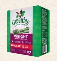 Greenies 潔齒骨 體重管理系列 - 標準犬 27oz (27支/包)