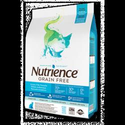 Nutrience 紐翠斯 無穀物7種魚全貓配方 5kg (11lb)  (藍白)