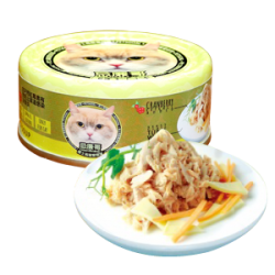忌廉哥 吞拿魚 + 芝士 貓罐頭 70g