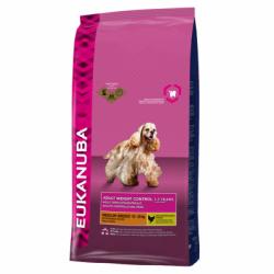 EUKANUBA 優卡成犬 (小至中型犬) 低熱量配方15kg